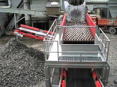 01 - Recycling scrap metal - ECOSTAR dynamic screening system