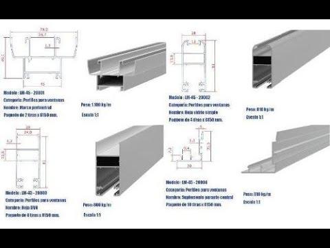 Como hacer una ventana de aluminio paso a paso youtube for Materiales para hacer una puerta