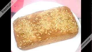 Ржаной хлеб с семечками( пошагово),очень полезный  и обалденный  Rye bread with seeds is very useful