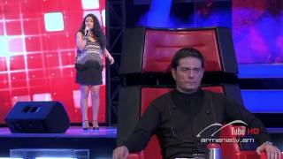 Astghik Martirosyan,Change the World -- The Voice of Armenia – The Blind Auditions – Season 3