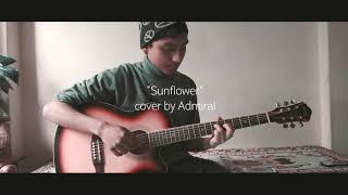 sunflower guitar cover by admiral avi
