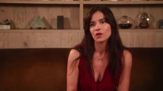 Patricia Velasquez learns to paint for Guys Reading Poems