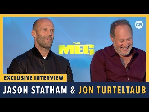 Jason Statham and Jon Turteltaub - Meg Exclusive Interview Mp3