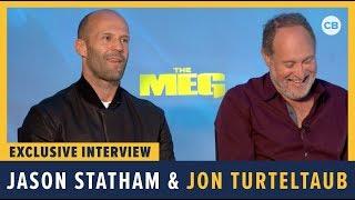 Jason Statham And Jon Turteltaub - Meg Exclusive Interview