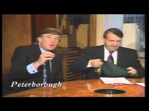 When Donald Trump met Saint and Greavsie- classic footage of The Donald drawing Leeds v Man Utd