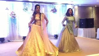 Bride And Her Sis | Rocking The Stage By Their Amazing Performance | Jaani Tera Naa | Kaun Nach Di