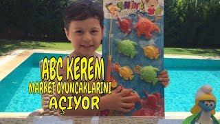 A 101 den Kerem'e Bayram hediyeleri aldık   Keremin market oyuncak alışverişi  ABC KEREM