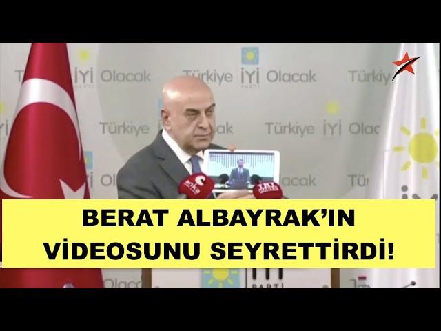 BERAT ALBAYRAK'IN VİDEOSUNU SEYRETTİRDİ VE SORDU!