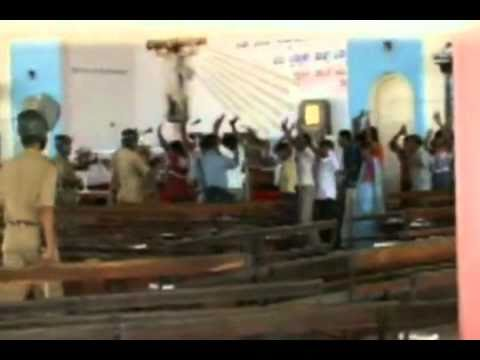 Attack  on Christians in India
