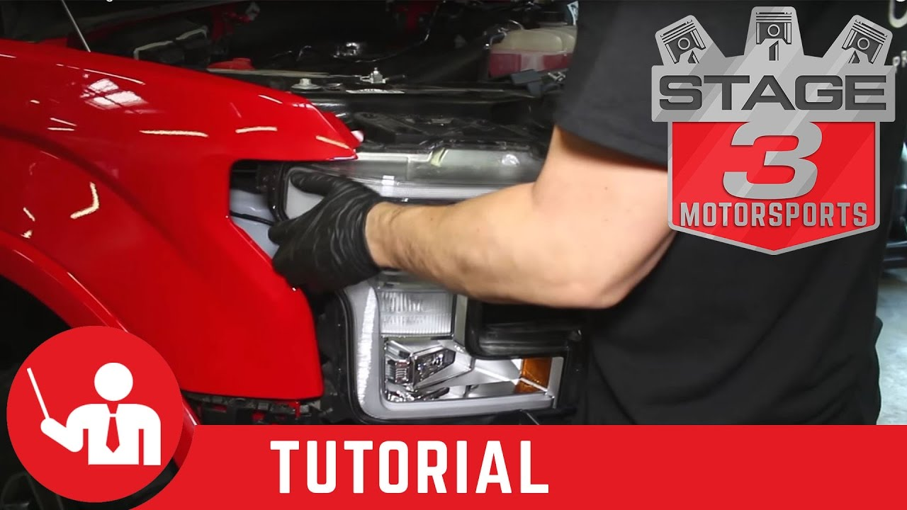 2015-2020 F-150 Headlight Removal Tutorial - YouTube