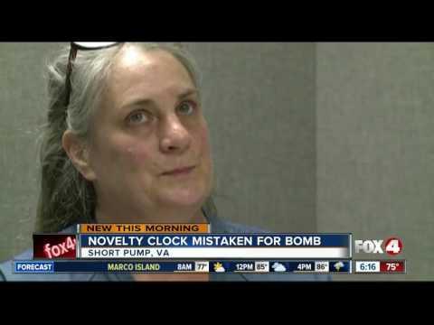 Novelty alarm clock lands woman in jail