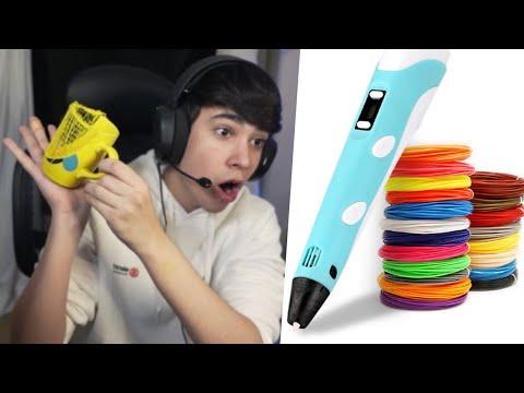 arreglando cosas con mi lápiz 3D