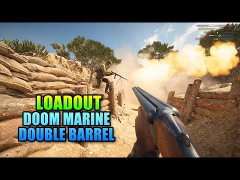 Loadout - Doom Marine Double Barrel 1900 | Battlefield 1
