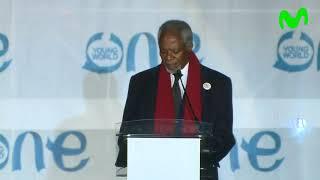 Discurso de inauguración OYW Kofi Annan - Día 1