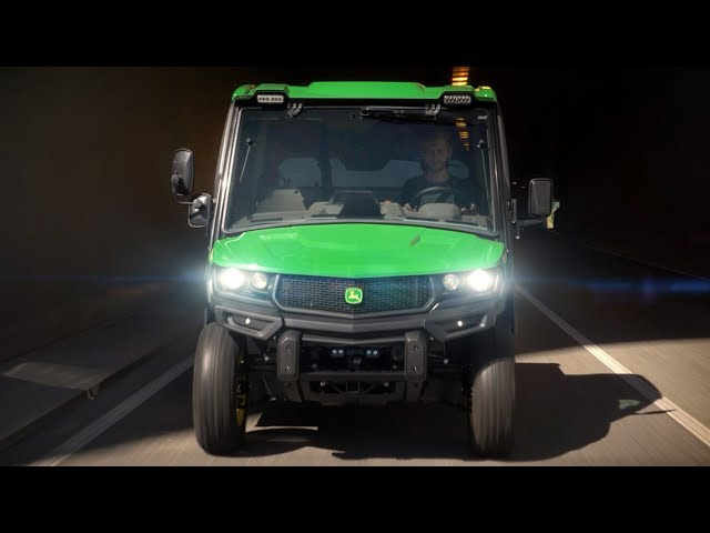 John Deere - Gator XUV865R - Máximo confort en el trabajo