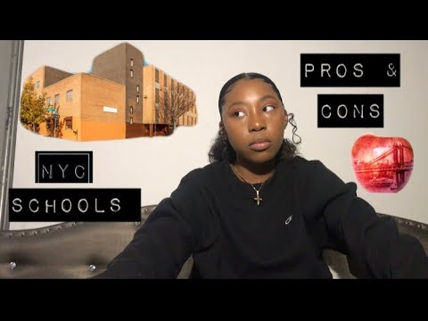 NYC HIGH SCHOOLS 📚🛎// PROS & CONS