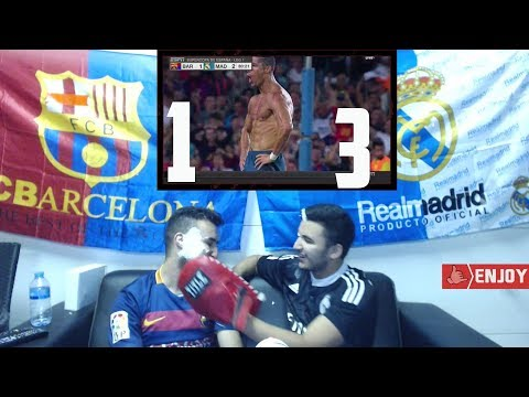2 WORLD CLASS GOALS LEAD REAL MADRID TO  EL CLASICO VICTORY 1-3 - *CREAMY LIVE REACTION*