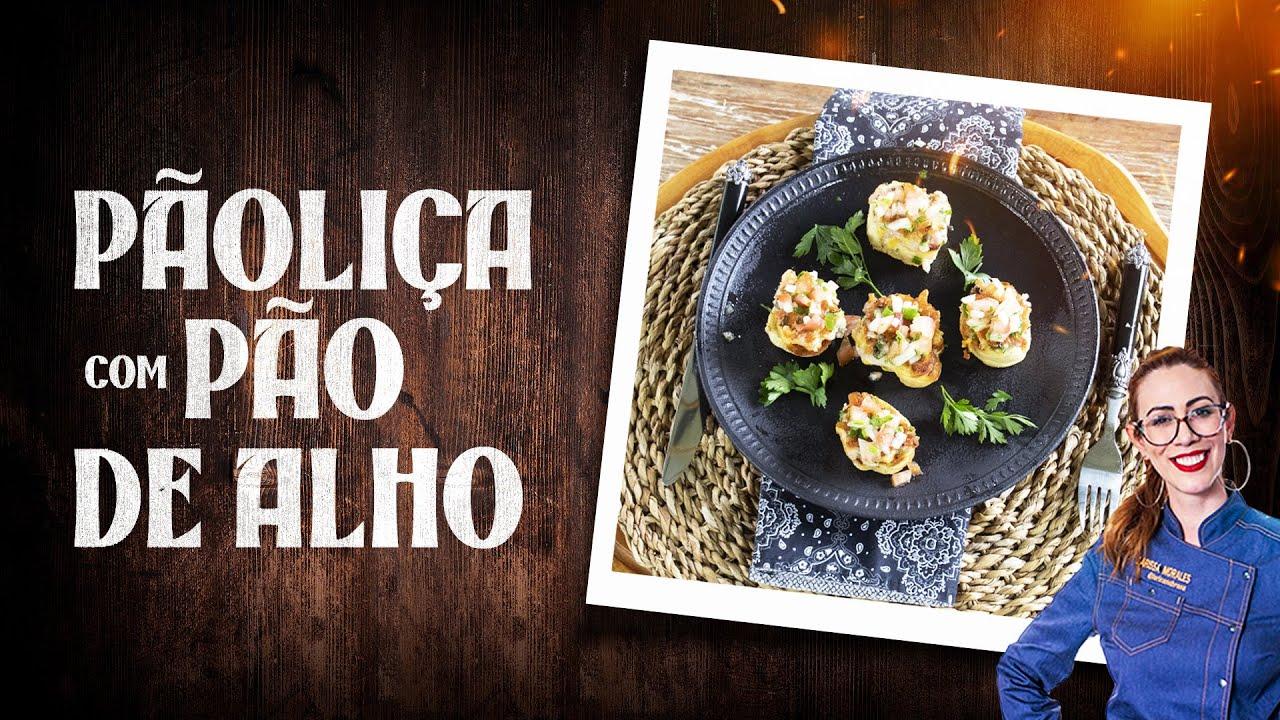 PÃO COM LINGUIÇA de frango feito com PÃO DE ALHO: VEJA A RECEITA