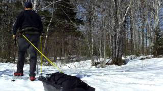 Diy Pulk Sled
