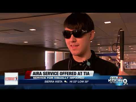 Tucson International Airport provides free access to Aira technology