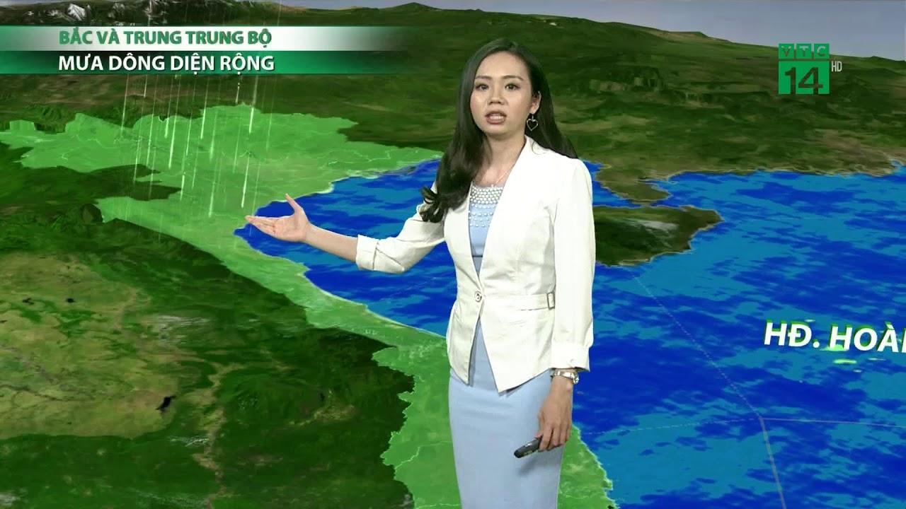 VTC14   Thời tiết cuối ngày 06/04/2018   Bắc và Trung bộ đón cái rét nàng Bân với nhiệt độ giảm sâu