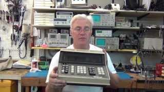 Monroe 1651 Nixie Tube Engineering Calculator from 1971 Part 1 - Intro & Teardown