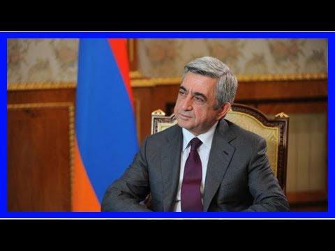 Саргсян подал в отставку с поста премьер-министра Армении | TVRu