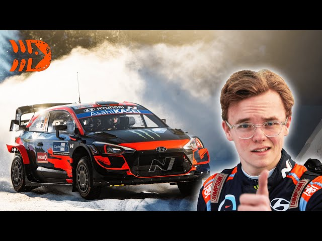 19 Year Old Oliver Solberg Debuts WRC Car - Arctic Rally Finland 2021