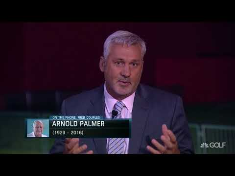 "Emotional Fred Couples talks about legacy of Arnold Palmer ""I loved him"" (FULL INTERVIEW)"