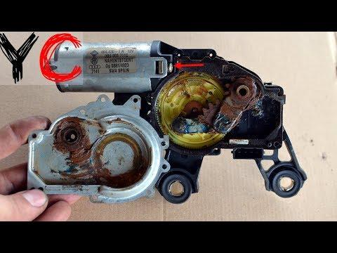 Ремонт моторчика заднего стеклоочистителя mazda Замена катализатора outlander