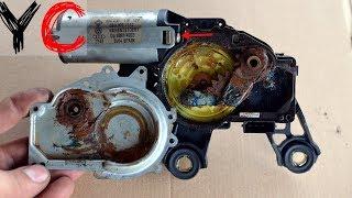 Моторчика заднего дворника восстановление Volkswagen Passat B5/Фольксваген Пассат Б5 /Ауди/Шкода