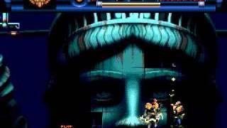 Judge Dredd Sega Mega Drive Genesis Walkthrough 009