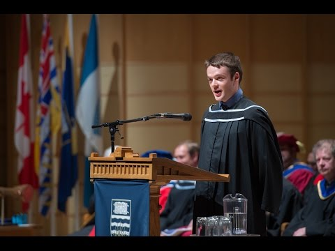 UBC Science Graduation Speech 2016