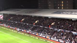 "Best ""Forever blowing bubbles"", West Ham vs. Tottenham, 2013, FULL HD"