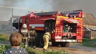 В Балаковском районе сгорел дом