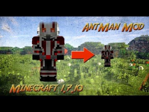 minecraft  eğlenceli mod tanıtımı  ant man modu  karınca kadar olmak ve fazlası