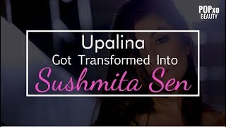 Upalina Got Transformed Into Sushmita Sen - POPxo Beauty