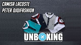 Unboxing Camisa Lacoste Peter Qiqifashion