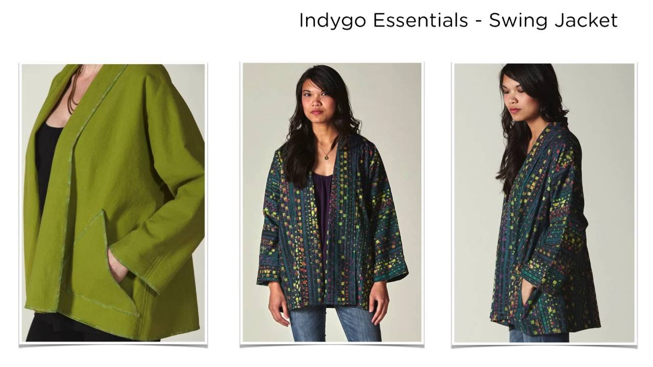 d147cfb334 New Indygo Essentials Apparel Patterns by Indygo Junction - YouTube
