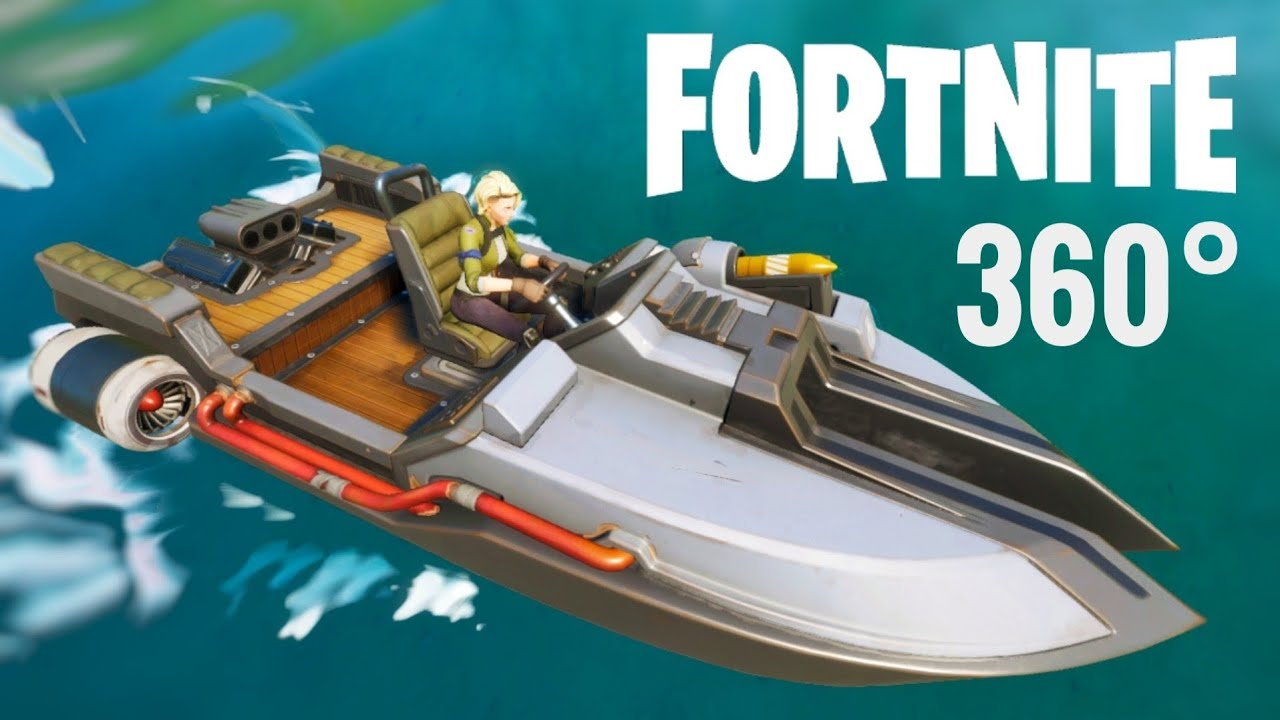 Vr 360 Video Fortnite Chapter 2 Season 11 Boat First Drop 360 Virtual Reality