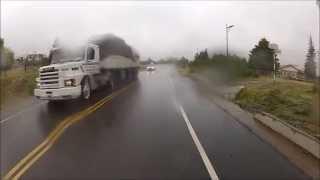 Visitando Argentina (61) - Garbage - Tucumán - Honda CG 150 - Go Pro - Ruta Nacional 40