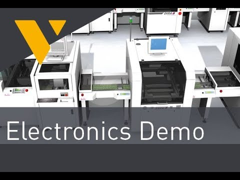 Electronics-Demo via Visual Components