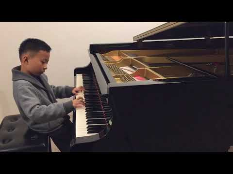 "Marek Performing ""Romance in G Major"" by Johann Nepomuk Hummel, RCM Repertoire Level 5"