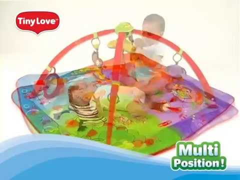 tapis d 39 veil gymiini move and play t9850 de tiny love youtube. Black Bedroom Furniture Sets. Home Design Ideas