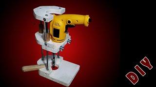 Homemade Drill Guide - Jig - DIY