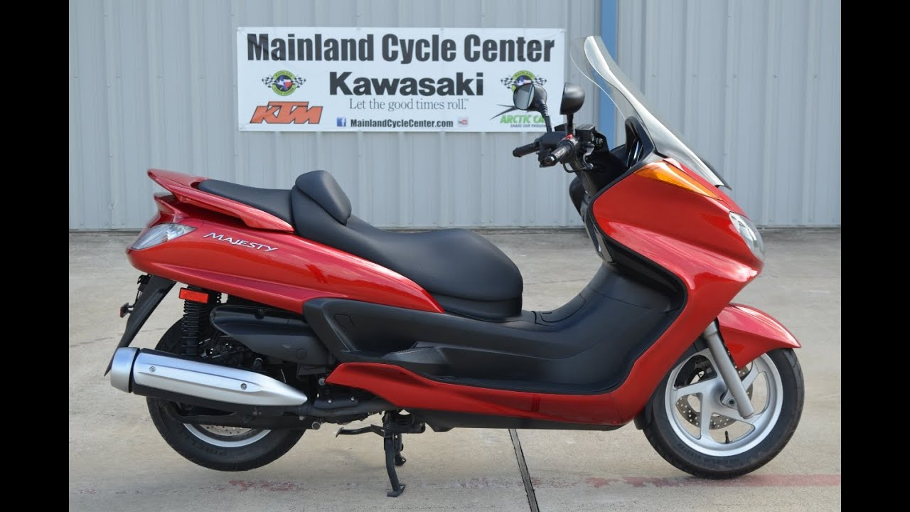 $3,499: For Sale 2006 Yamaha Majesty 400 Red Overview and Review ...