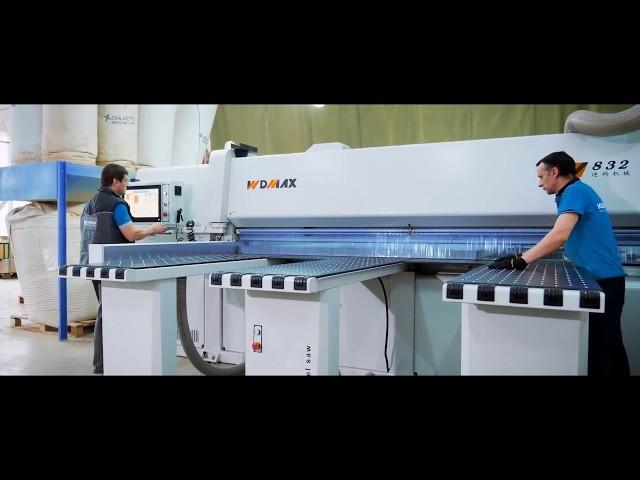 Оборудование WDMAX на мебельной фабрике Константа