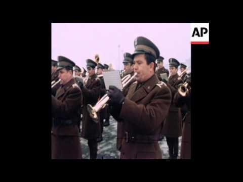 Ethiopian leader General Mengistu visits Warsaw - 1978