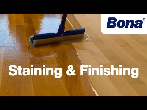 Bona® Sand & Finish Training - Chapter 4: Staining & Finishing