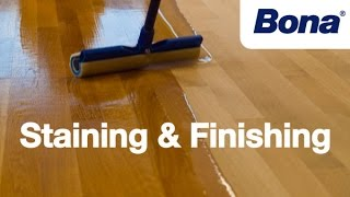 Bona Sand & Finish Training - Chapter 4: Staining & Finishing